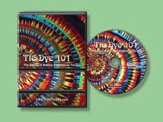 Tie Dye 101 DVD